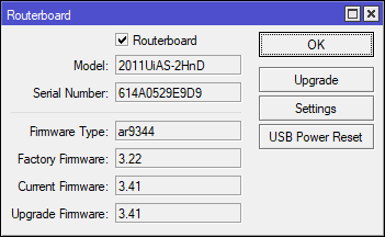 routerboard firmware 3.41 to 6.42.6